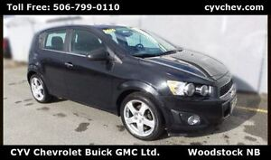 2014 Chevrolet Sonic LT Hatch-$7/Day-Sunroof, Rear Cam, Heated S