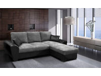 GIANI SOFA BED, AVAILABLE IN LEATHER OR CORD FABRIC**VARIOUS COLOURS AVAILABLE* UK DELIVERY