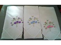 cotton embroidered handkerchiefs