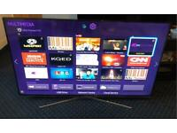 Samsung UE55H6670 55-inch Widescreen Full HD 1080p 3D Slim LED Smart Television with Quad Core