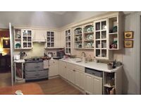 Painted Kitchen Units for sale £600 or nearest offer