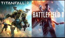 PC - Battlefield 1 & Titanfall 2 EA Origin
