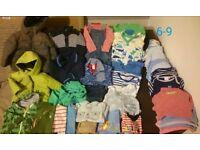 Large 6-9 months boys clothes bundle