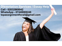 Assignment / Dissertation / Research Proposal / Thesis / Accounting / Marketing / Business / IT