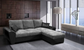 BRAND NEW** GIANI SOFA BED, AVAILABLE IN LEATHER OR CORD FABRIC**VARIOUS COLOURS AVAILABLE