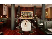 FULL/PART TIME BARTENDER REQUIRED FOR BUSY LONDON RESTAURANT