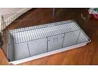 """Pet cage 46""""x23""""x18"""" plus accessories, rat/gerbil"""