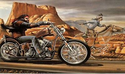 DAVID MANN GHOST RIDER 3' X 5' FLAG/BANNER-US SELLER-FREE SHIPPING