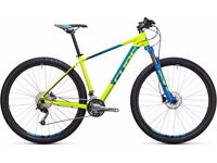 """LOOK!!!! 2017 CUBE AIM SL MOUNTAIN BIKE 27.5"""" PERFECT CONDITION GT CARRERA SPECIALIZED GIANT KONA"""