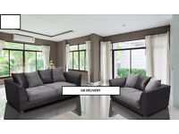 Byron sofa sets, available as a 3+2 set or corner sofa.... in grey/black or brown/mocca