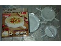 Dumpling maker / Ravioli cutter set * New