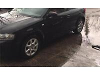Audi alloys full set with tyres lots of tread left