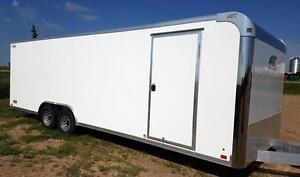 ATC 24 'x 8.5' Premium aluminum Enclosed Car Hauler