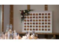 Donut Wall for hire - Weddings, birthdays, baby shower, christenings, parties