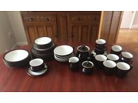 6-Piece Denby Merlot Crockery Set