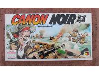 Black Cannon board game, complete (1986 vintage)