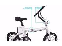 Ladies, girls new folding electric bike