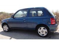 Nissan Micra 1.0 S 2002 11 months MOT