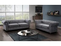 💥Mega Sale Offer On💥💥Fantastic New CHESTERFIELD 3+2 Sofa Set Order Same Day For Home Delivery💥