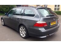 LOVELY 2005 BMW E61 TOURING WITH 12 MONTHS MOT (NO ADVISORIES) FOR SALE!!