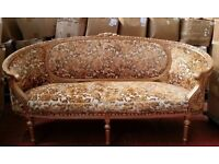 Big Clearance of 2x Double Settees Chairs and 12x Single Victorian Antique Style Sofas