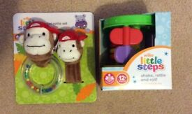 Rattle Set and Multi Activity Toy -New
