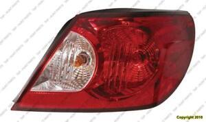 Tail Light Passenger Side Convertible High Quality Chrysler Sebring 2008