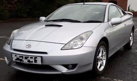 Toyota Celica Silver 1.8 VVTI 140 Coupe Full Leather Sunroof Aircon Elect Heated Mirrors