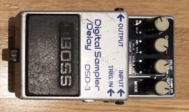 BOSS DSD-3 Digital Sampler/Delay pedal, Vintage, Very Good