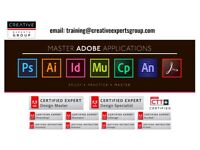 💻 PHOTOSHOP, ILLUSTRATOR, INDESIGN, ACROBAT, AFTER EFFECTS LESSONS TAUGHT BY THE ADOBE EXPERT ACE