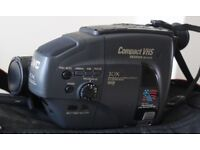 Compact Handheld JVC GR-AX35 Camcorder with Accessories