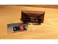 Ray Ban Gold Aviator Sunglasses Brand New