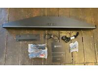 Q Acoustics Media 4 (M4) sound bar with built in subwoofer