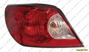 Tail Lamp Driver Side Convertible High Quality Chrysler Sebring 2008