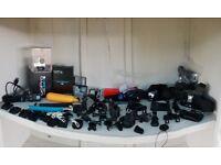 GoPro HERO 4 HD Camcorder - Silver + Remote + Accessories