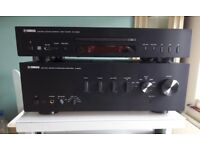 YAMAHA A-S500Amplifier and CD-S300 CD Player