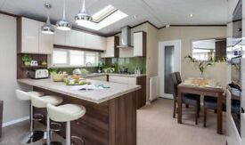 LODGE FOR SALE IN THE YORKSHIRE DALES, LOW SITE FEES, RIVERS EDGE HOLIDAY HOME & LODGE PARK, LA6 3HR