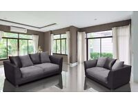 70% sale price!! JUMBO CORD BYRON CORNER / 3+2 SOFA SET -BEST SELLING BRAND-SAME DAY FAST DELIVERY