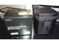 Sigma 17-50mm EX DC OS for Canon