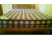 Kozee Sleep double sprung mattress in good clean condition