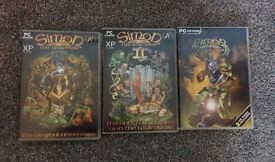Rare PC Games - Simon the Sorceror Collectors Set - like New