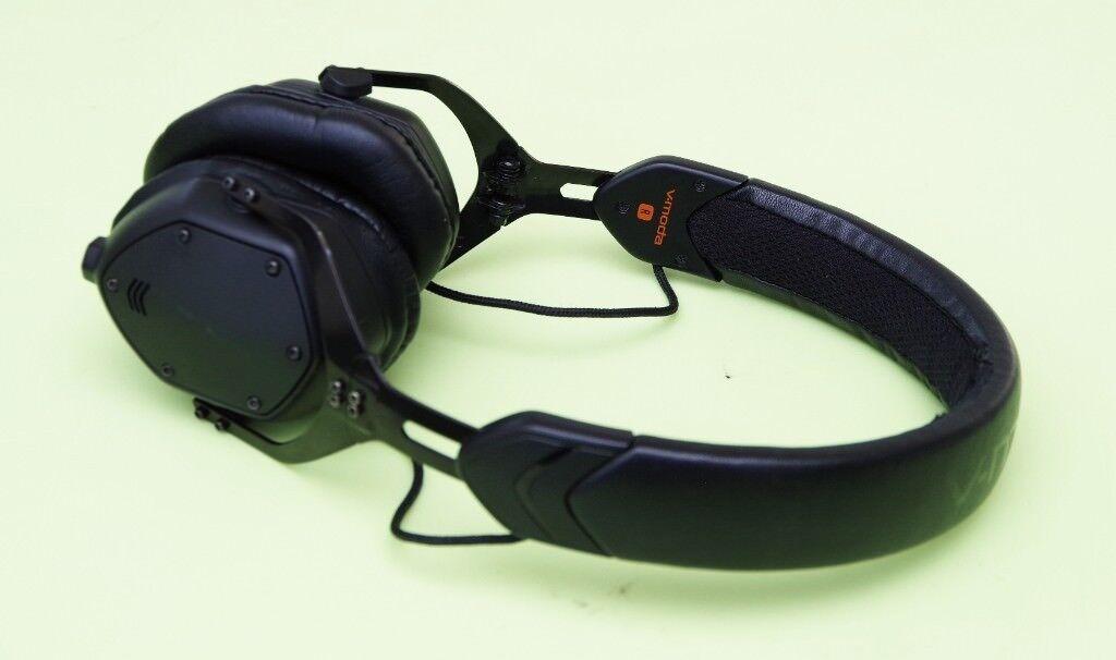 V-Moda XS DJ Studio Gaming Metal Foldable Headphones inc Hard Carry Case
