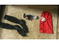 Snowboard lot Snood/goggles/socks grab yourself a bargain £20 obo everything mu