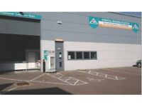 Warehouse Trade counter To Let - modern industrial building to rent next to Howdens screwfix etc