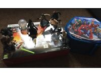 XBOX 360 Disney Infinity Star Wars Starter Pack (Boxed) with 7 add. figures