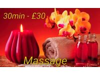 Sport/Deep Tissue Massage 1h/£50
