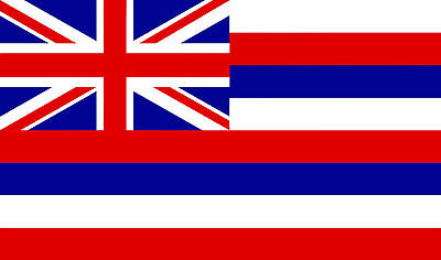 PREMIUM Aufkleber Fahne HAWAII USA Autoaufkleber Auto Motorrad Styling Sticker