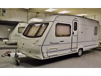 2004 ACE PRESTIGE FIFTY FIVE, 4 BERTH (FIXED DUBLE BED), AIR AWNING, CRiS CHECK - ALKO STAB - EXTRAS