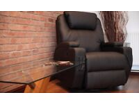 Cinemo Electric Rise Recliner Massage Chair - Black