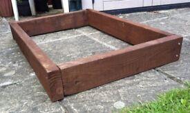 125mm HIGH MINI-SLEEPER PLANTING RAISED BED. £ 25